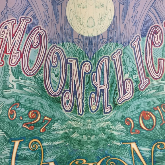 Poster for the band Moon Alice